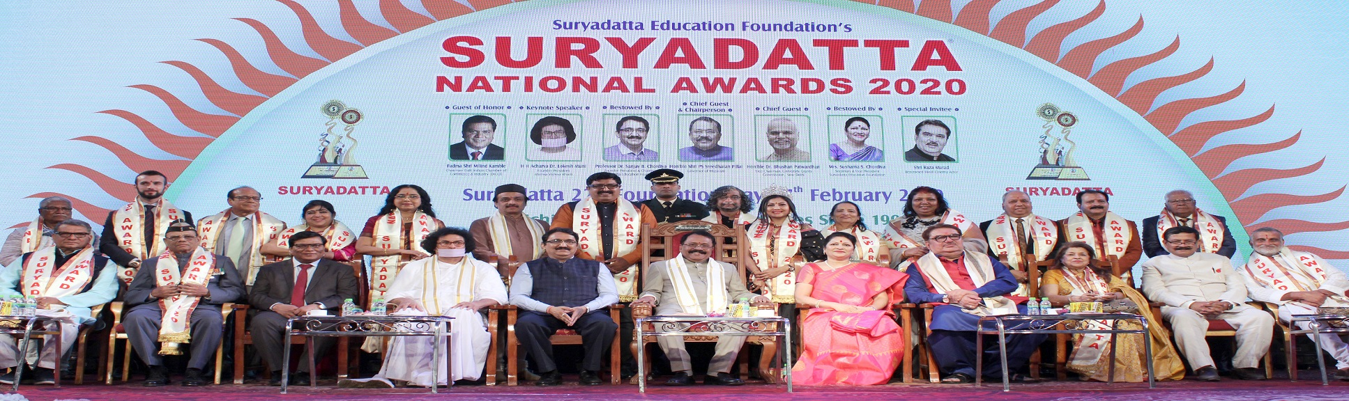 Suryadatta National Awards 2020