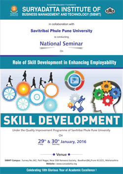National Level Seminar 29 30ROLE OF SKILL 29 30 JAN 1