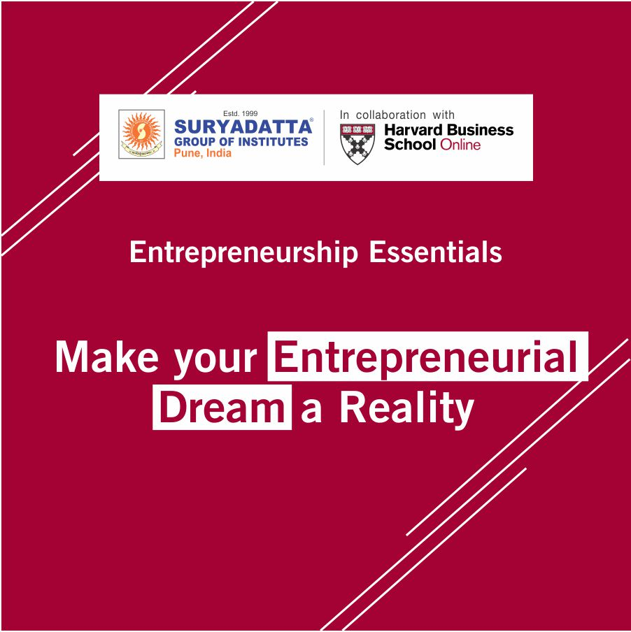 Suryadatta Entrepreneurship Essentials 1