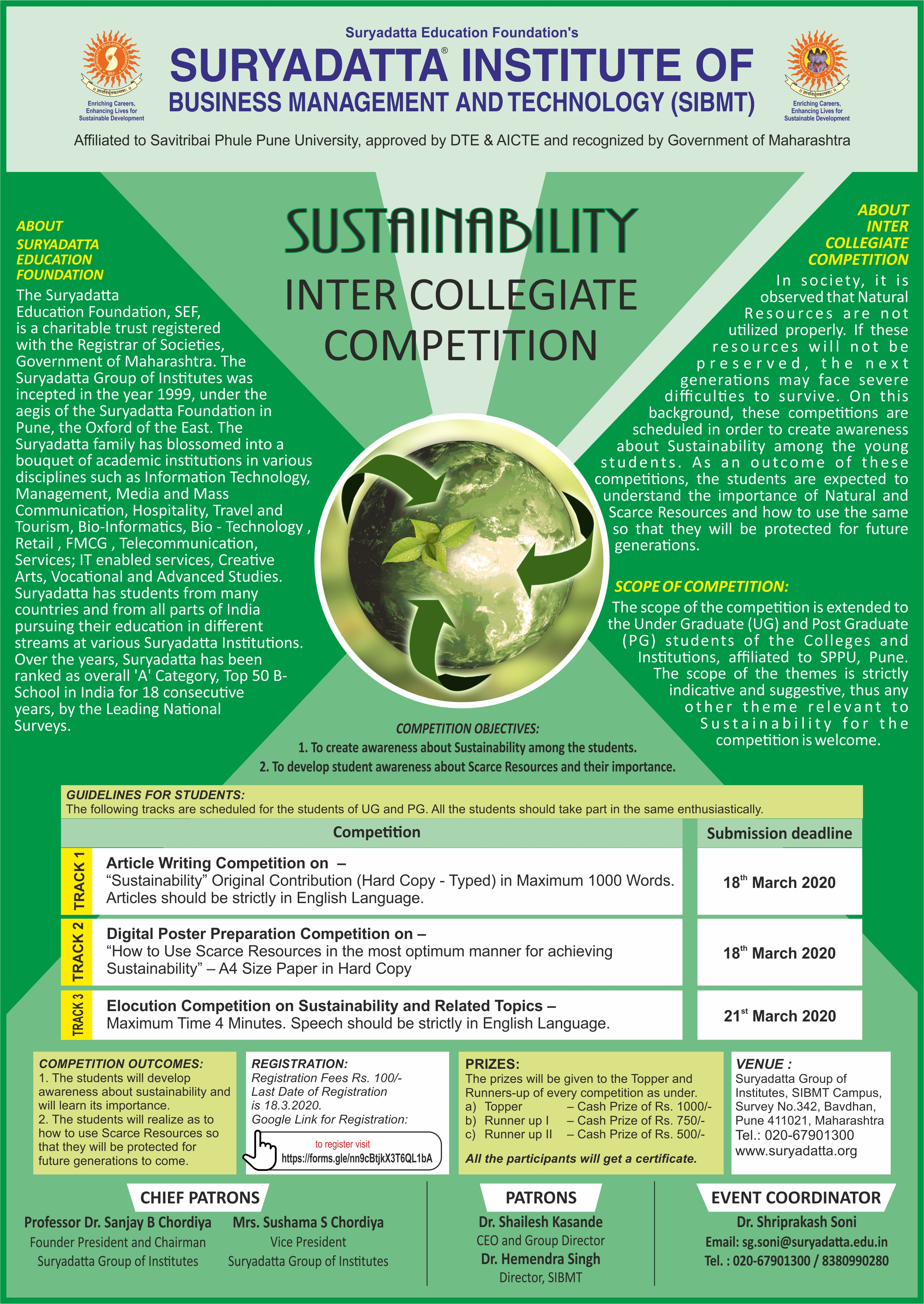 Sustainability Competition